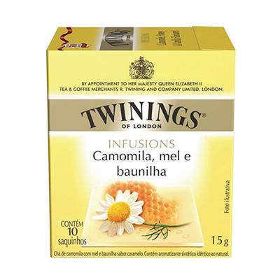 Chá de camomila 10 envelopes Twinings caixa CX