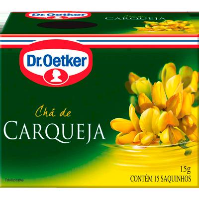 Chá de carqueja caixa 15 envelopes Dr. Oetker CX