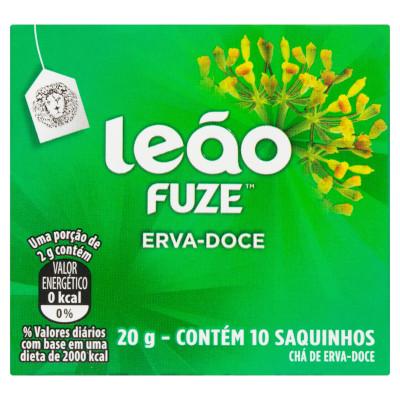 Chá de Erva Doce 20g (10 sachê) Leão caixa CX