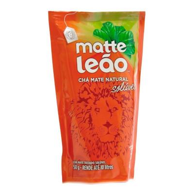 Chá mate natural solúvel sachê 50g Leão UN