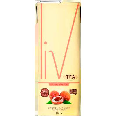 Chá verde com lichia Tetra Pak 1Litro LIV UN