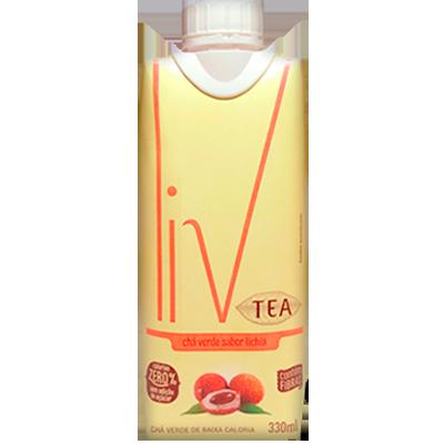 Chá verde com lichia Tetra Pak 330ml LIV UN