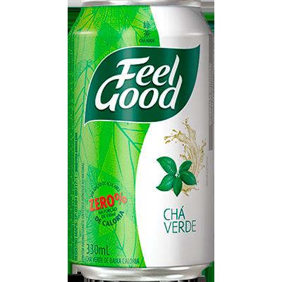 Chá verde 330ml Feel Good lata UN