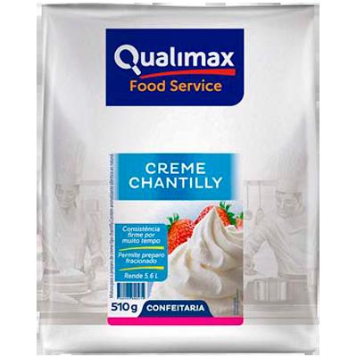 Chantilly em pó 500/510g Qualimax pacote PCT