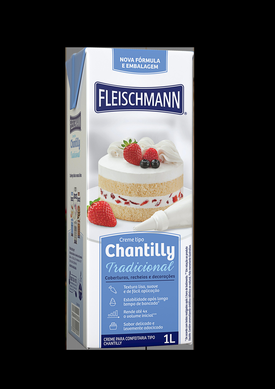 Chantilly líquido 1Litro Fleischmann Tetra Pak UN