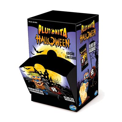 Chiclete halloween caixa 50 unidades Arcor Plutonita CX