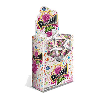 Chiclete sabor tutti frutti e hortelã caixa 40 unidades Arcor Poosh CX