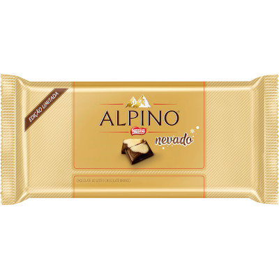 Chocolate alpino nevado 90g Nestlé/Alpino unidade UN