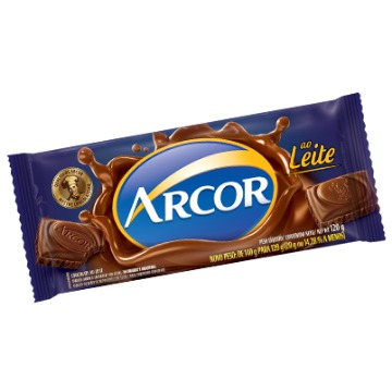Chocolate ao leite 140g Arcor  UN