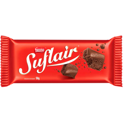 Chocolate ao leite aerado 50g Nestlé/Suflair UN