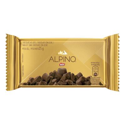 Chocolate ao leite caixa 18 unidades 25g Nestlé/Alpino CX