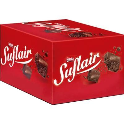 Chocolate ao leite 20 unidades de 50g Nestlé/Suflair caixa CX