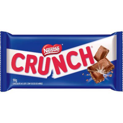 Chocolate ao leite com flocos de arroz 90g Nestlé/Crunch  UN