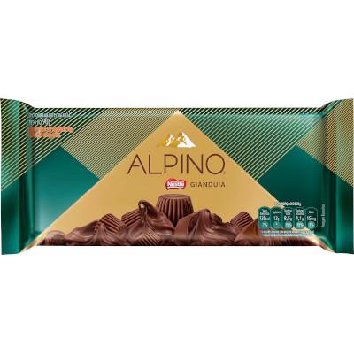 Chocolate ao leite gianduia 90g Nestlé/Alpino unidade UN