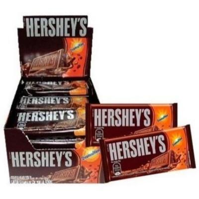 Chocolate com ovomaltine 18 unidades de 20g Hershey's caixa CX