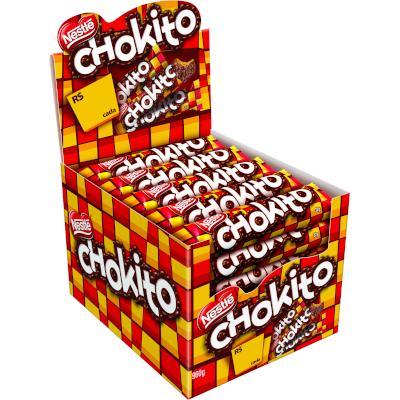 Chocolate com recheio de leite condensado caramelizado 30 unidades de 32g Nestlé/Chokito caixa CX