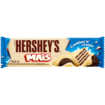 Chocolate cookies e creme 115g Hershey's Mais  UN