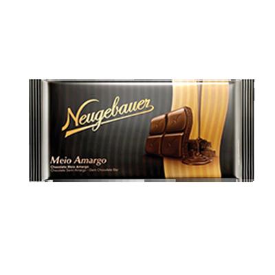 Chocolate meio amargo 130g Neugebauer UN