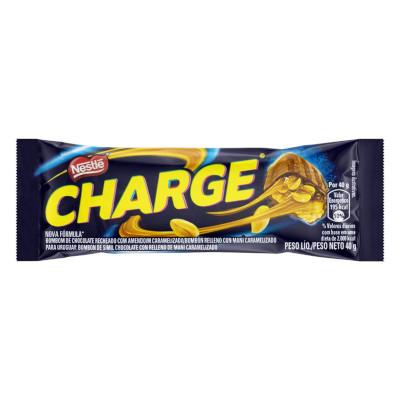 Chocolate recheado com amendoim e caramelo 30 unidades de 40g Nestlé/Charge caixa CX
