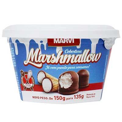Cobertura marshmallow pote 135g Marvi UN