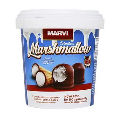 Cobertura marshmallow 400g Marvi pote UN