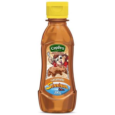 Cobertura para Sorvete Caramelo 200g Senninha/Cepêra squeeze UN