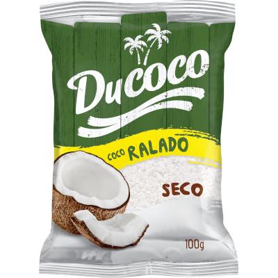 Coco Ralado desidratado 100g Ducoco pacote PCT