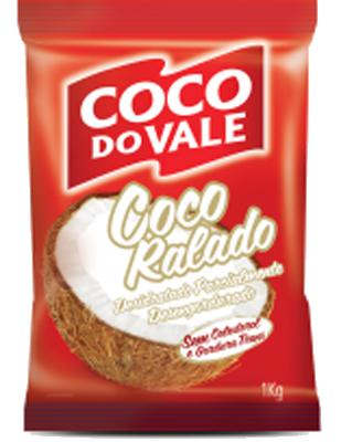 Coco ralado desidratado pacote por kg Coco do Vale KG