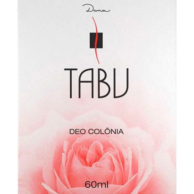 Colônia tradicional 60ml Tabu UN