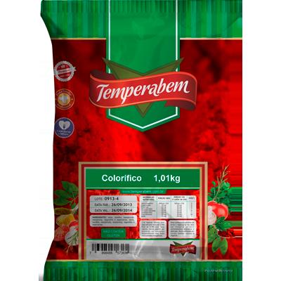 Colorau/Colorífico  1kg Temperabem pacote PCT
