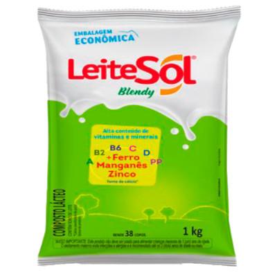 Composto Lácteo em Pó 400g LeiteSol Blendy pacote PCT
