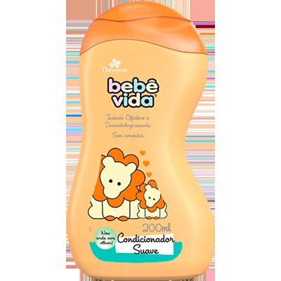 Condicionador Infantil Suave 200ml Bebê Vida/Davene  UN