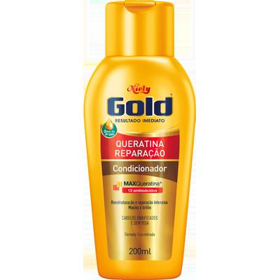Condicionador max queratina 200ml Niely Gold  UN