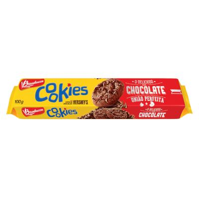Cookies sabor chocolate 100g Bauducco pacote PCT