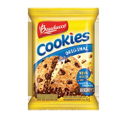 Cookies tradicional caixa 14 unidades de 32g Bauducco CX