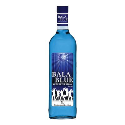 Coquetel sabor blue 1Litro Bala Blue garrafa UN