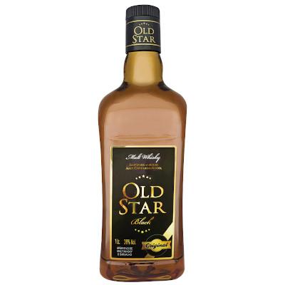 Coquetel sabor whisky 950ml Old Star garrafa UN