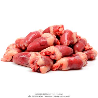 Coração de Frango resfriado por Kg Chef Meat  KG