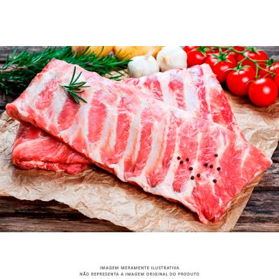 Costelinha Suína congelada por kg Londres Carnes  KG