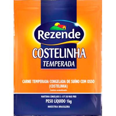 Costelinha Suína temperada congelada por Kg Rezende  KG
