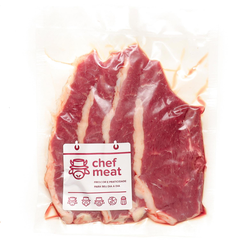 Coxão Duro resfriado (bifes de 100 a 120g) Chef Meat por Kg KG