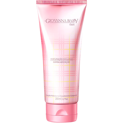 Creme Corporal loção hidratante classic 200ml Giovanna Baby  UN