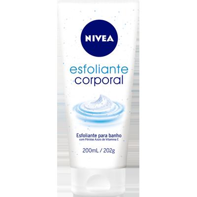 Creme Corporal Loção Hidratante Esfoliante Bath Care 200ml Nivea UN