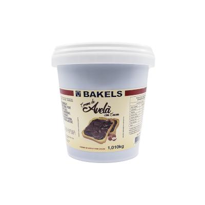 Creme de Avelã com cacau 1,01kg Bakels pote UN
