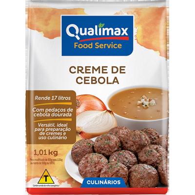 Creme de Cebola  1,01kg Qualimax pacote PCT