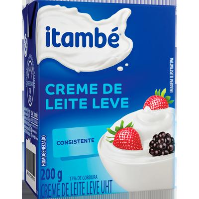 Creme de leite 17% de gordura 200g Itambé Tetra Pak UN