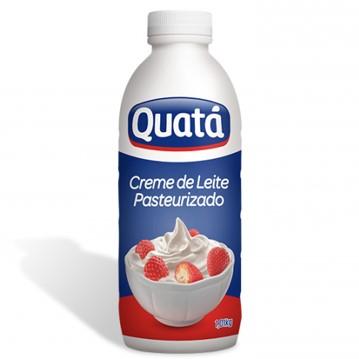 Creme de leite fresco pet 1,01kg Quatá UN