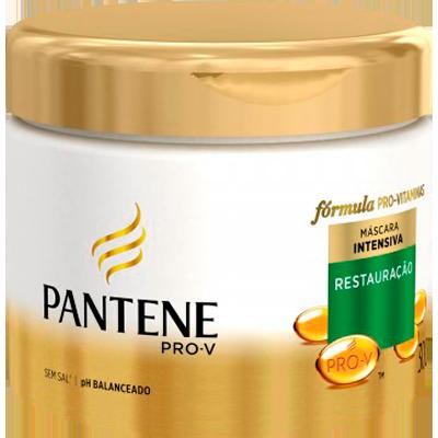 Creme de Tratamento de Cabelos Restauração Profunda pote 300ml Pantene POTE