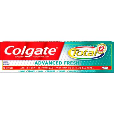 Creme Dental advanced fresh 90g Colgate Total 12  UN