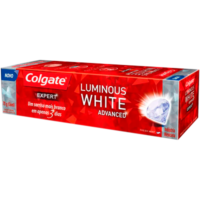 Creme Dental terapêutico expert 70g Luminous White Colgate UN